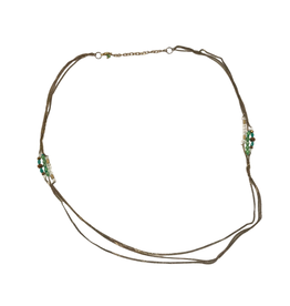 Sasha Association for Crafts Producers Long Story Necklace