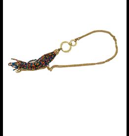 Asha Handicrafts Beaded Tassle Necklace