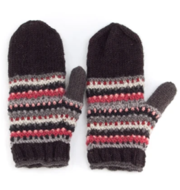 Laundromat Piper Charcoal Mittens
