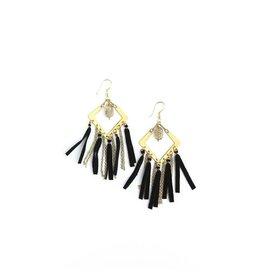 Fair Anita Cape Fringe Earrings