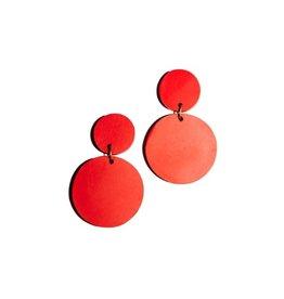 Rover & Kin Red Confetti Earrings