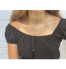 Asha Handicrafts Crescent Moon Necklace