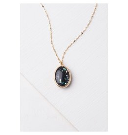 Starfish Project Black Opal Necklace