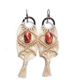 Upavim Macrame Earrings