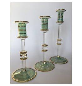 Dandarah Green Taper Candleholder