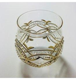 Dandarah Golden Carousel Wine Glass