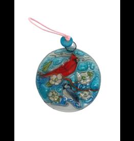 Pampeana Bird Friends Glass Ornament