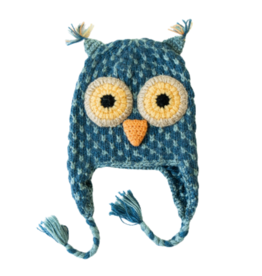 Andes Gifts Child Owl Hat