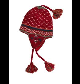 Laundromat Helsinki Crimson Earflap Hat