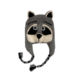 Andes Gifts Raccoon Hat