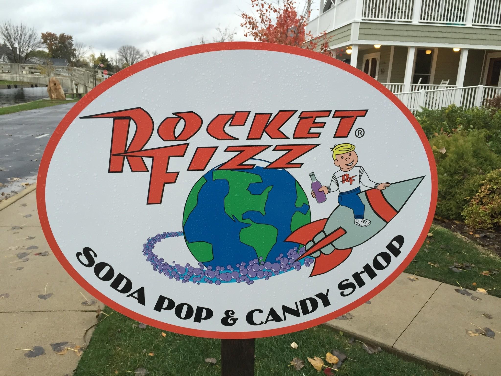 Rocket Fizz Soda Pop & Candy Shop Winona Lake