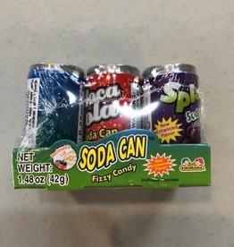 Kidsmania Inc Kidsmania Soda Pop Can Fizzy Candy