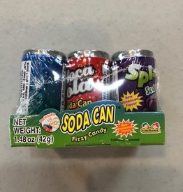 Kidsmania Inc Soda Pop Can Fizzy Candy