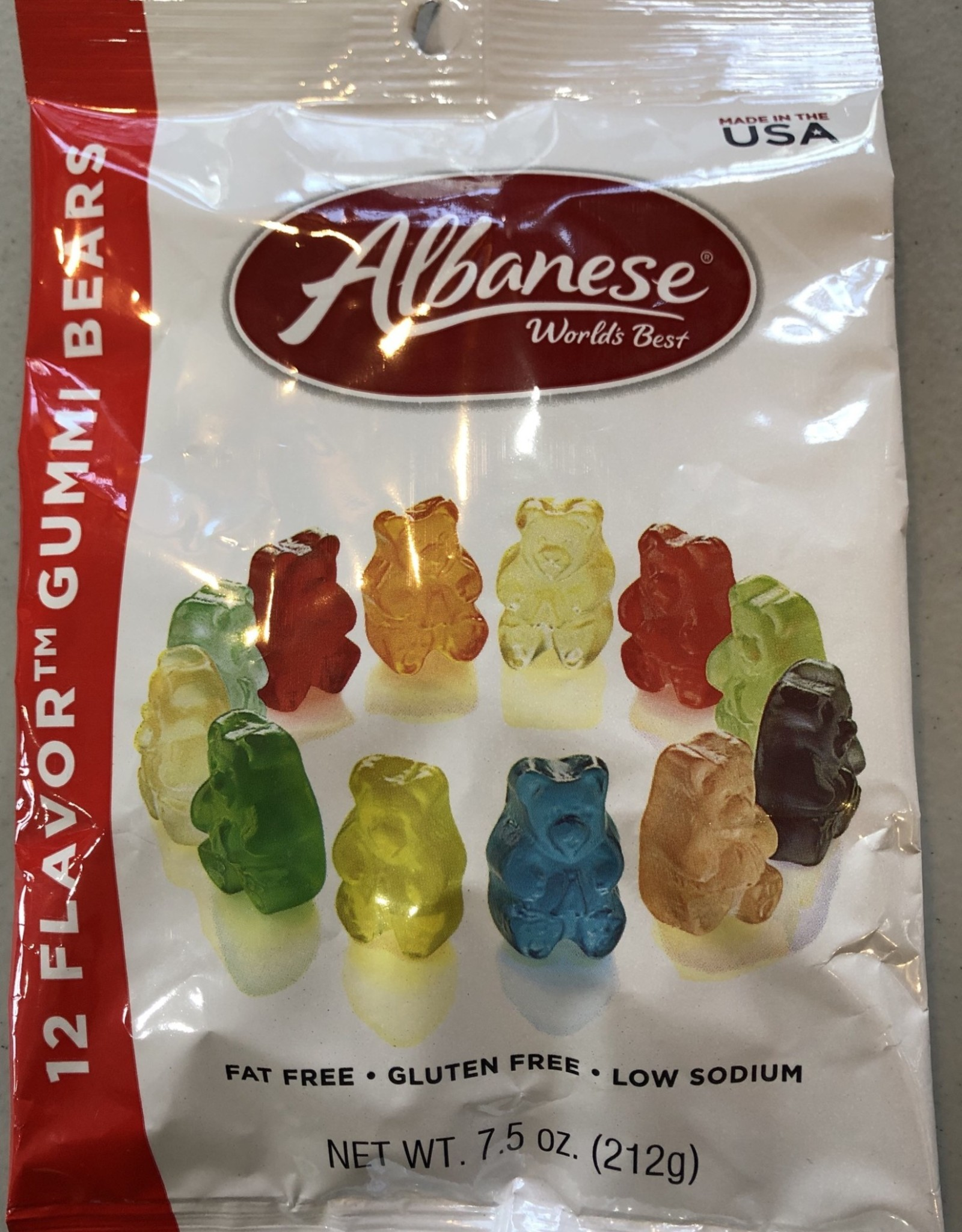 Albanese Confectionery Group Albanese Gummi Bears 12 Flavor