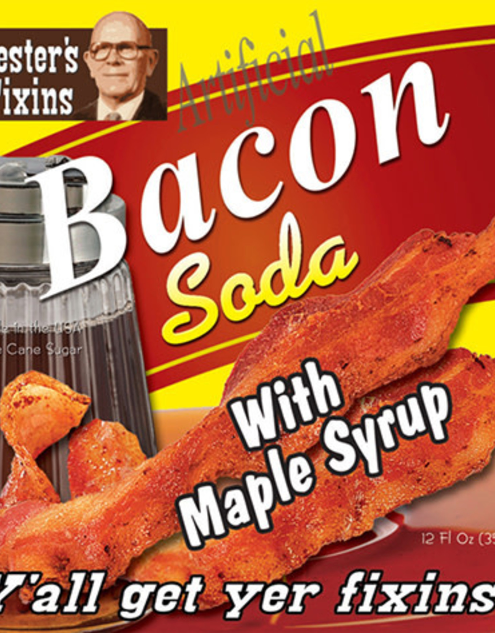 Rocket Fizz Lester's Fixins Bacon with Maple Syrup Soda
