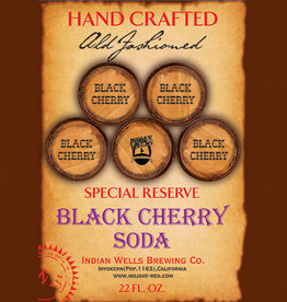 Indian Wells Brewing Company Special Reserve Hand Crafted Black Cherry