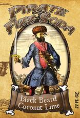 Rocket Fizz Pirate Fizz Black Beard Coconut Lime