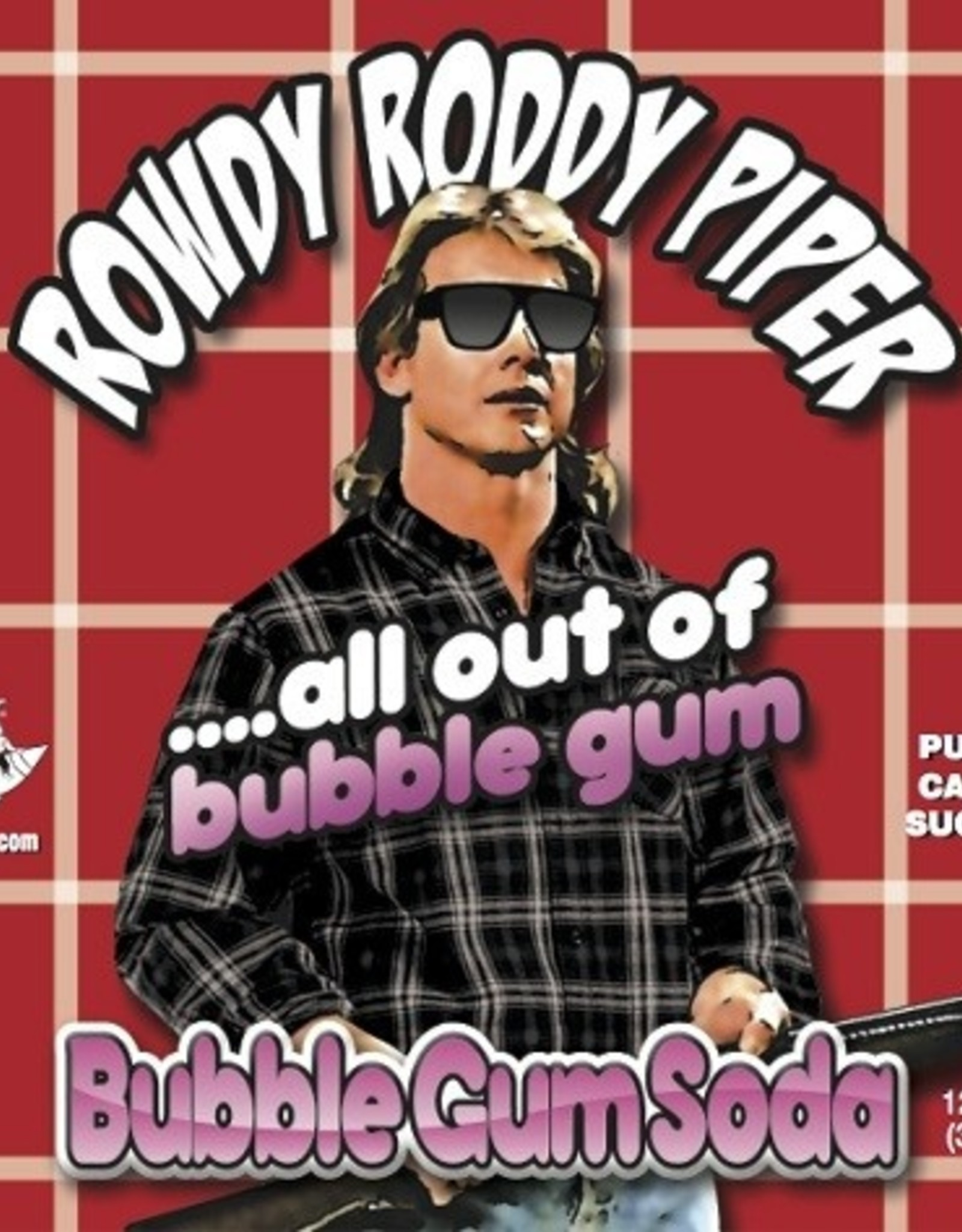 Rocket Fizz Rowdy Roddy Piper Bubble Gum