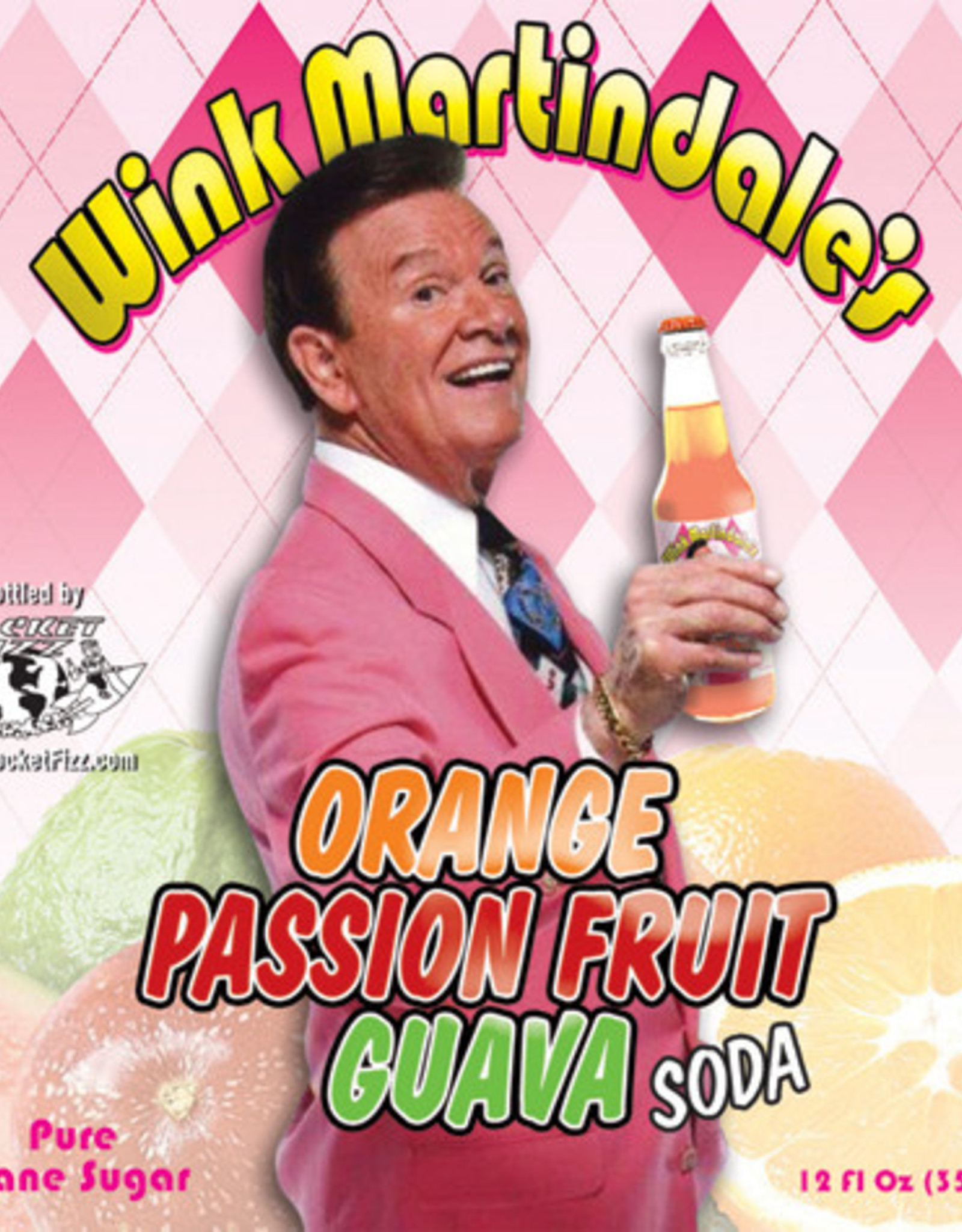Rocket Fizz Wink Martindale Orange Passion Fruit Guava
