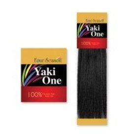 FOUR SEASONS FOUR SEASONS YAKI ONE 100% HUMAN HAIR