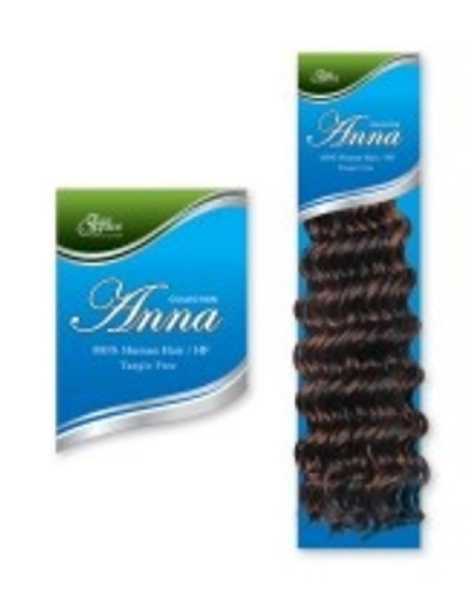 ANNA ANNA HUMAN HAIR DEEP BULK18