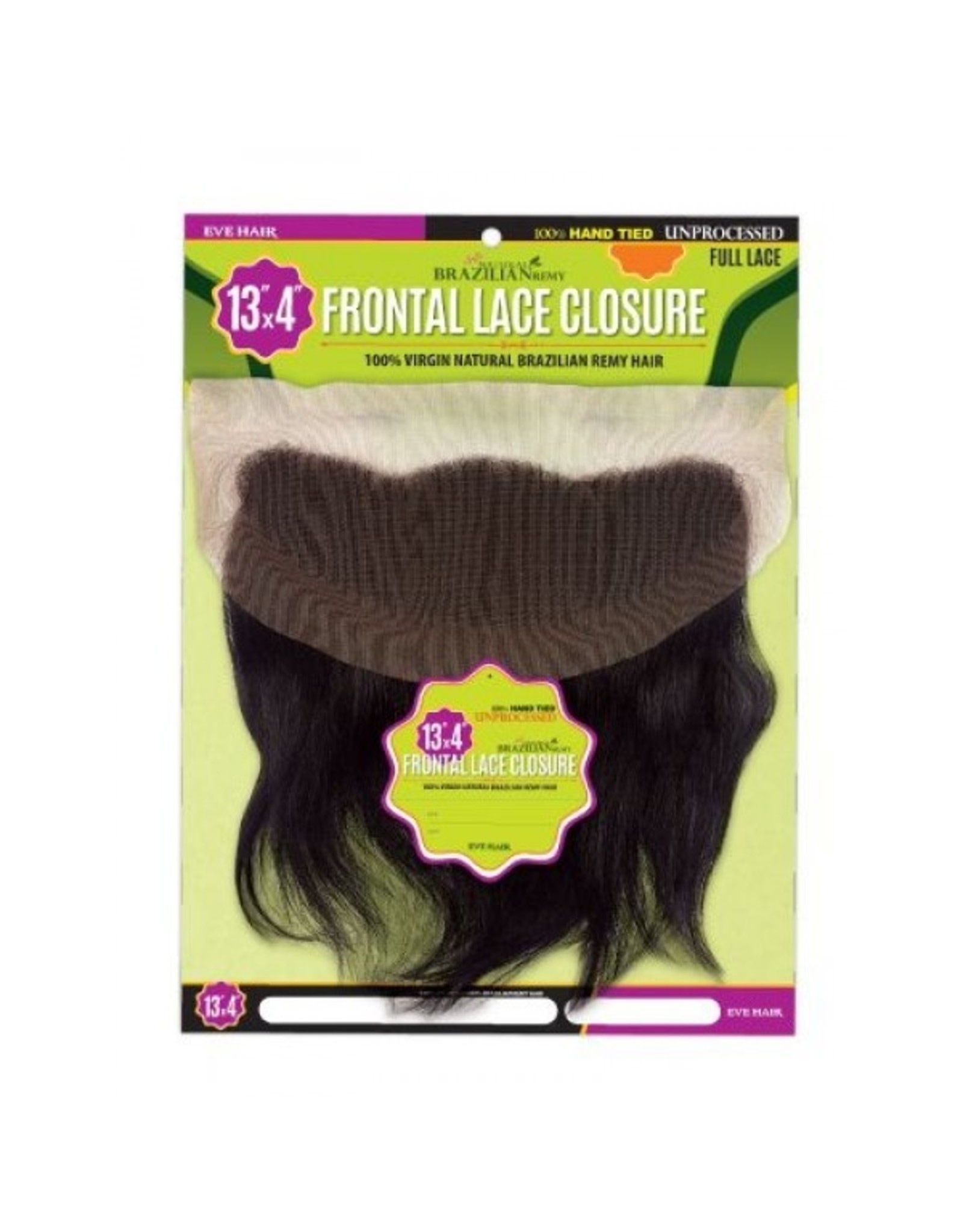 EVE'S HAIR 13X4 FRONTAL LACE CLOSURE