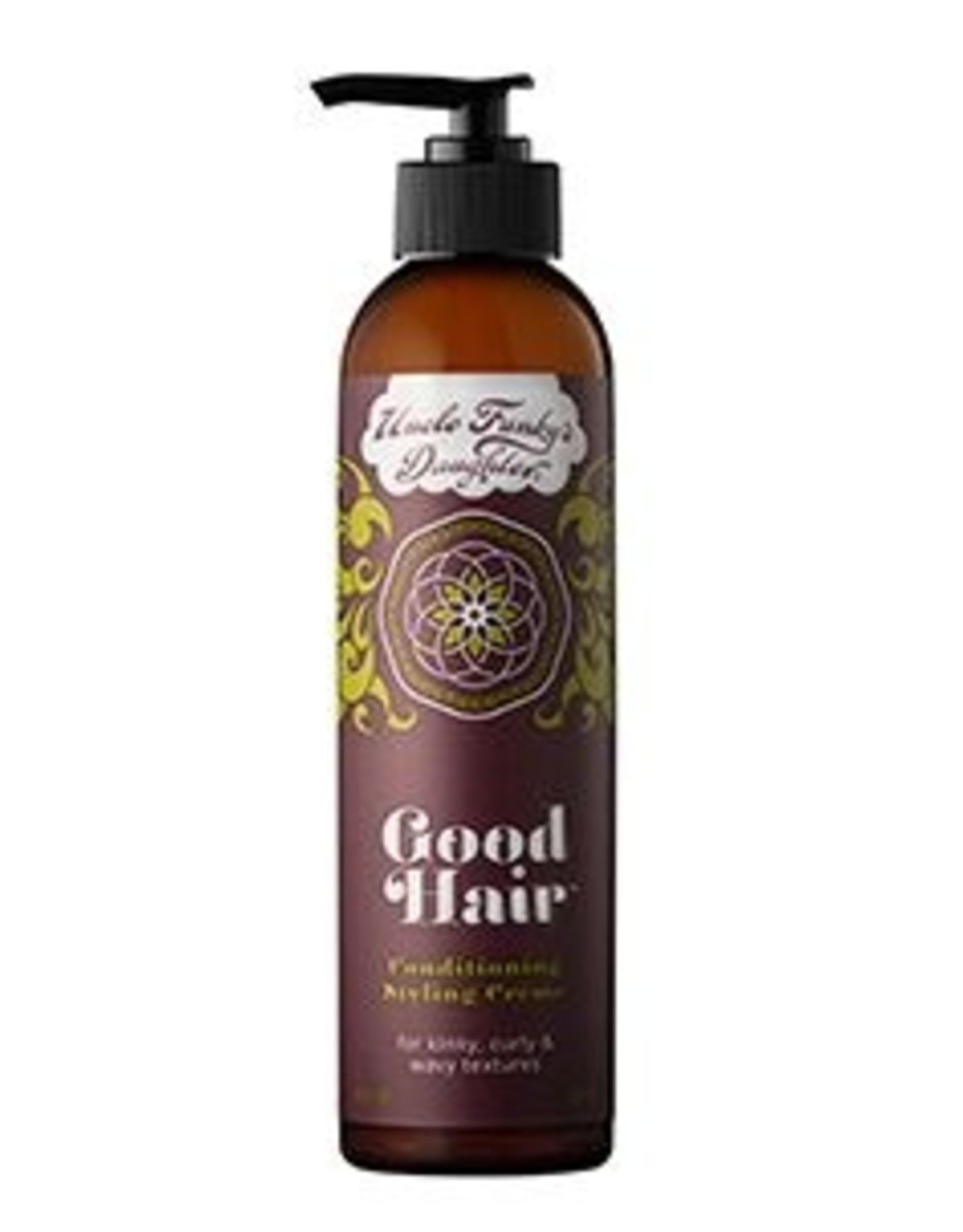 UNCLE FUNKY GOOD HAIR CONDITIONING STYLE CREAM 8fl oz