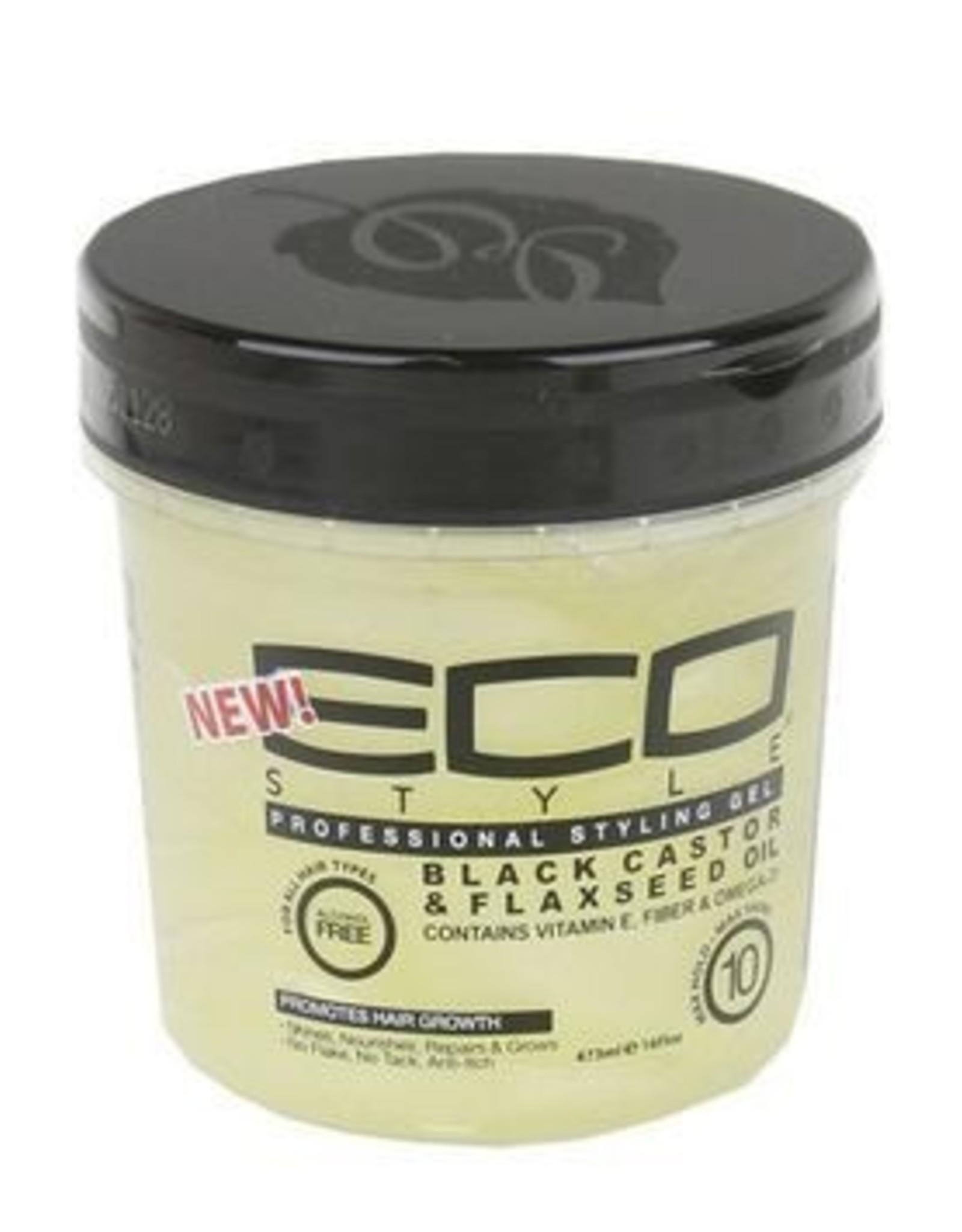 ECO ECO STYLE BLACK CASTOR & FLAXSEED 16oz.