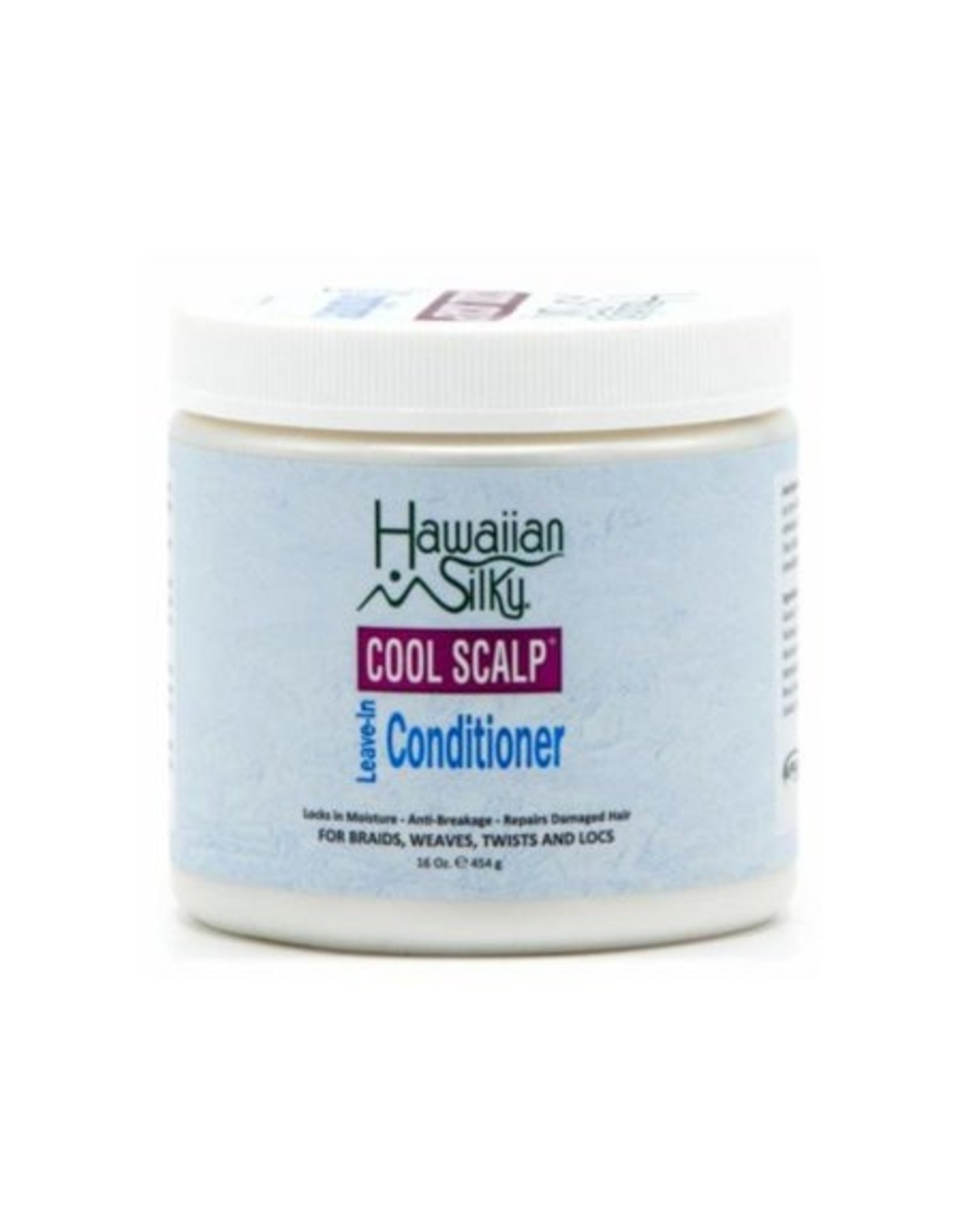 HAWAIIAN SILKY COOL SCALP LEAVE-IN CONDITIONER 16oz.