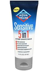 AQUA VELVA SENSITIVE 5 in 1 AFTER  SHAVE BALM 3.3fl oz