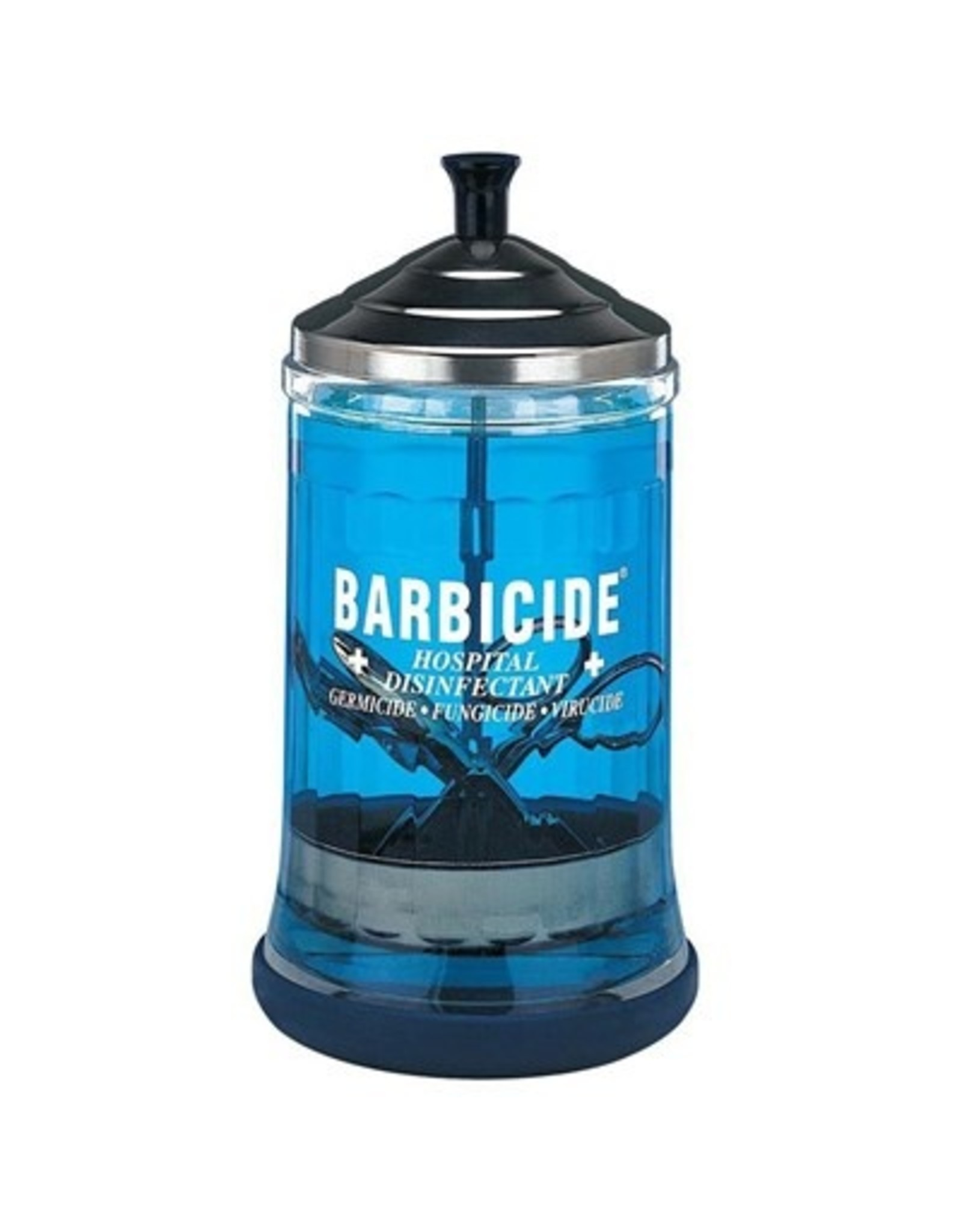 King Research BARBICIDE MIDSIZE DISINFECTING JAR 21oz.