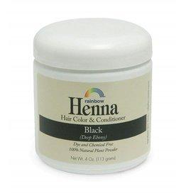 RAINBOW BLACK HENNA 4oz.