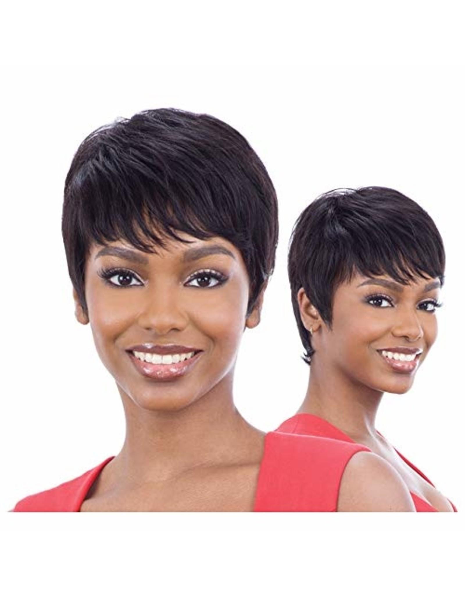 NAKED MARCI  100% HUMAN HAIR WIG-NATURAL