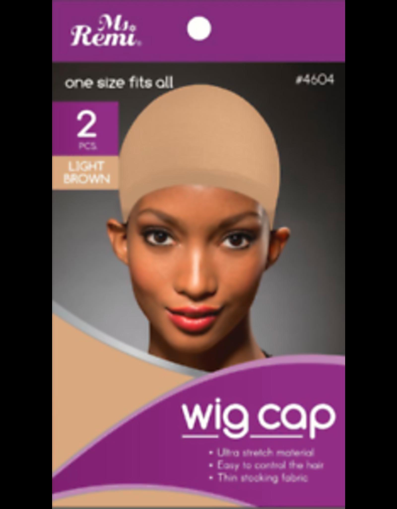 JOAN INTERNATIONAL MS. REMI WIG CAP -NATURAL 2PCS