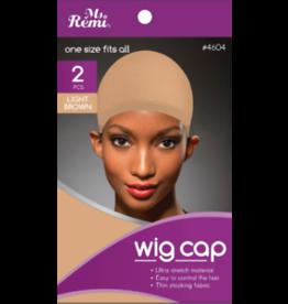 JOAN INTERNATIONAL MS. REMI WIG CAP -LIGHT BRWON 2PCS