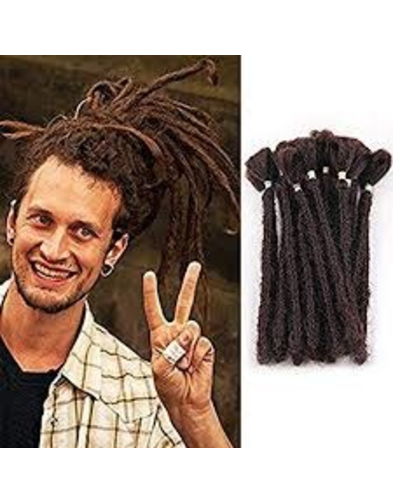 """AOSOME Aosome 20"""" Dread Pack w/ Hair Jewelery"""