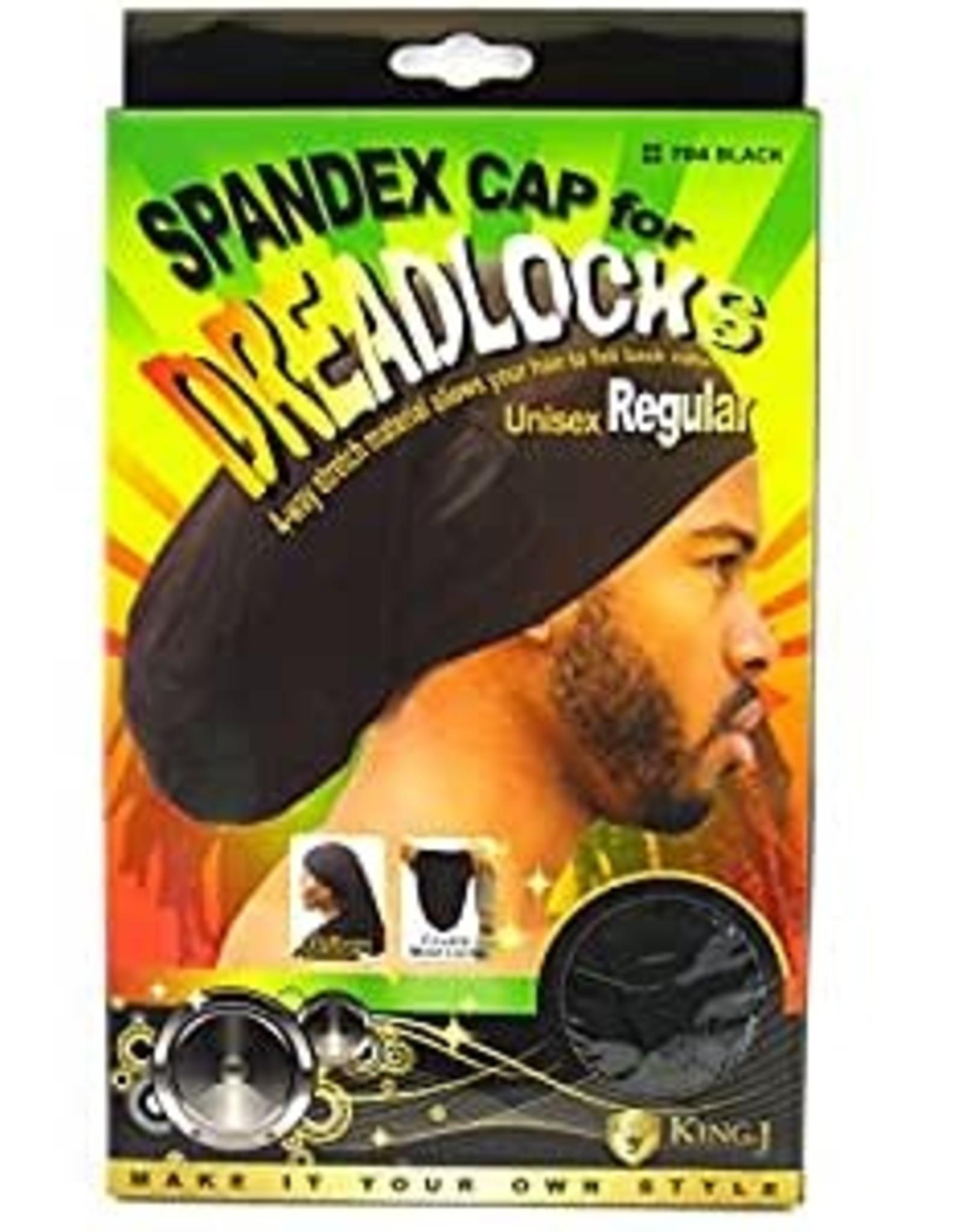 KING J SPANDEX DREADLOCKS CAP