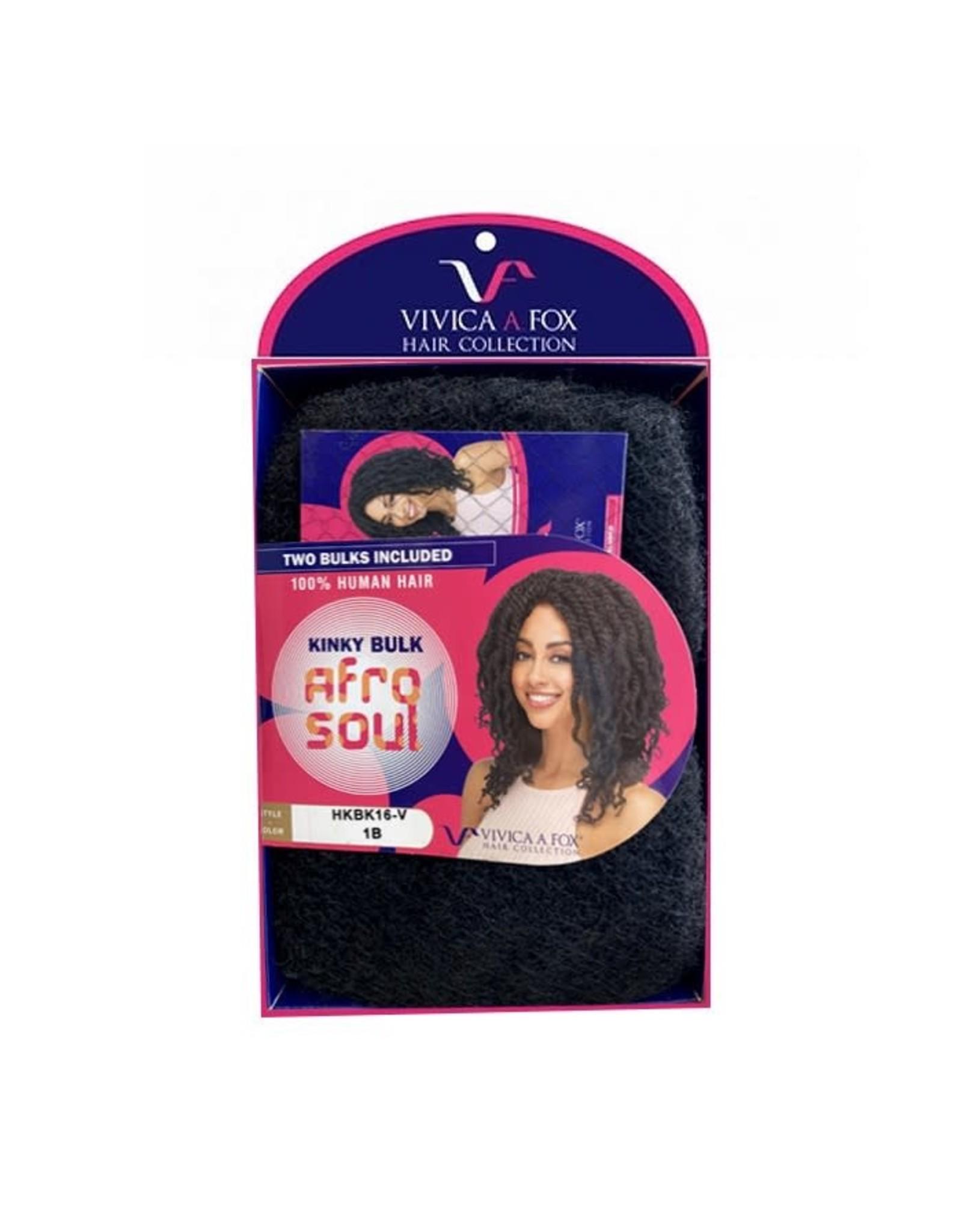 AMEKOR INDUSTRIES Kinky Bulk Afro Soul (100% Human Hair)