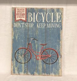 Signs R&T Bicycle Dont Stop