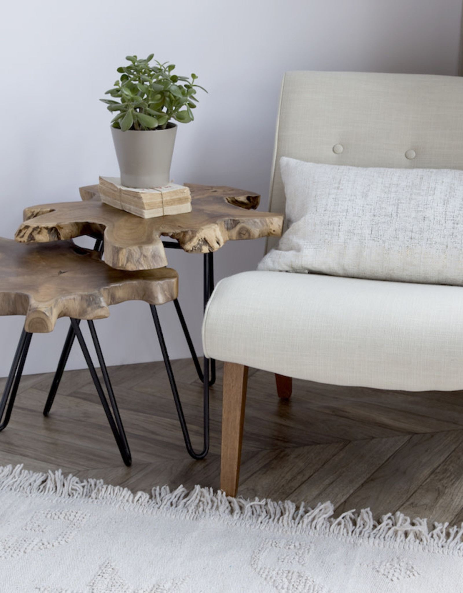 Style In Form SIF Natura Nesting Table  Small NAT-017