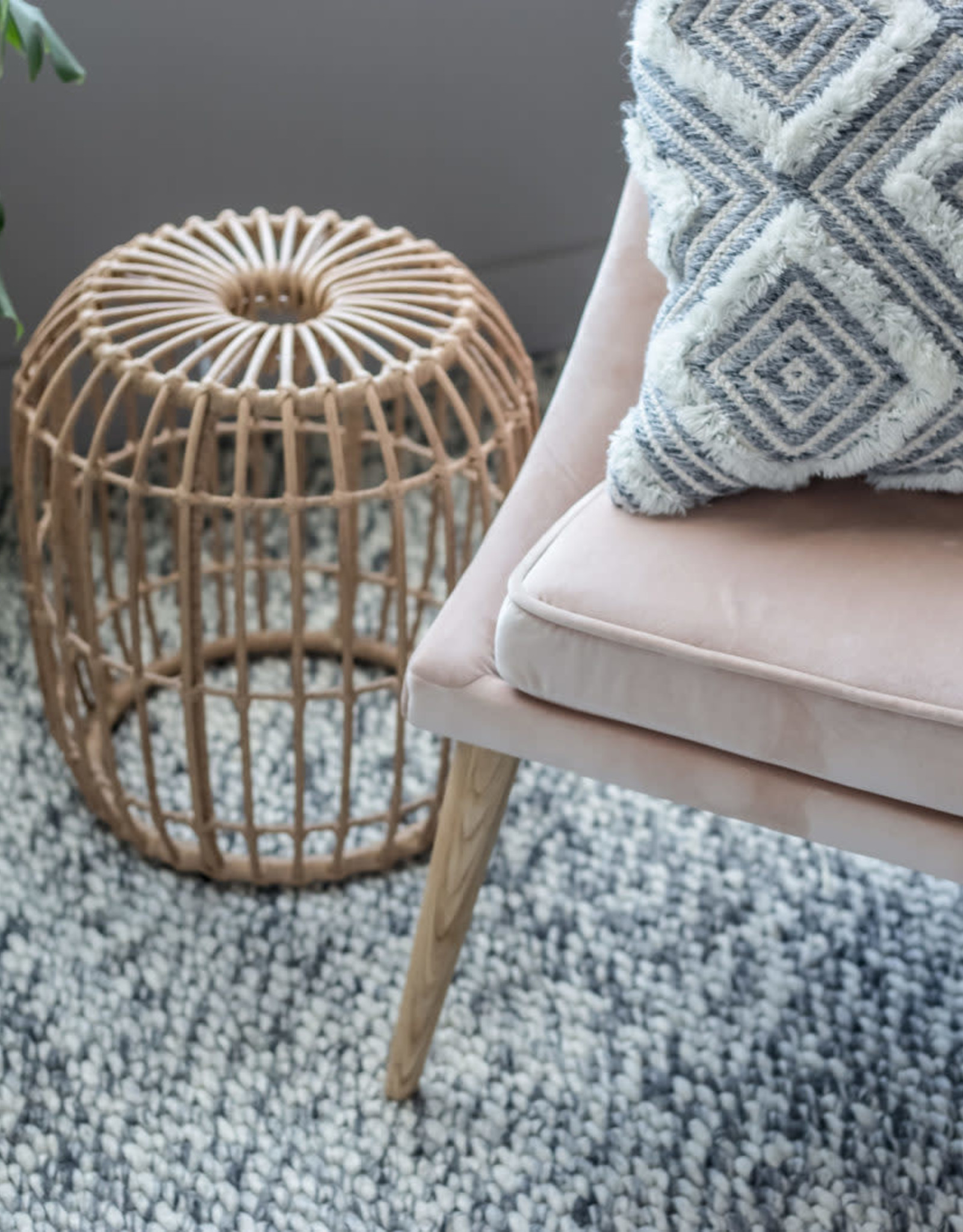 Style In Form SIF Calabria Wicker Stool CAL-002