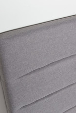 Style In Form SIF Justin Headboard  Queen Greige JUS-015