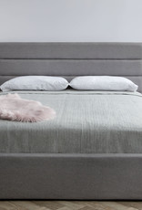 Style In Form SIF Justin Storage Bed JUS-001 Queen Greige