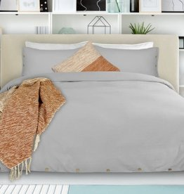 Alamode Home Duvet Cover RJS Coxen Grey Queen