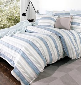 Alamode Home Duvet Set RJS Austin Queen w / shams