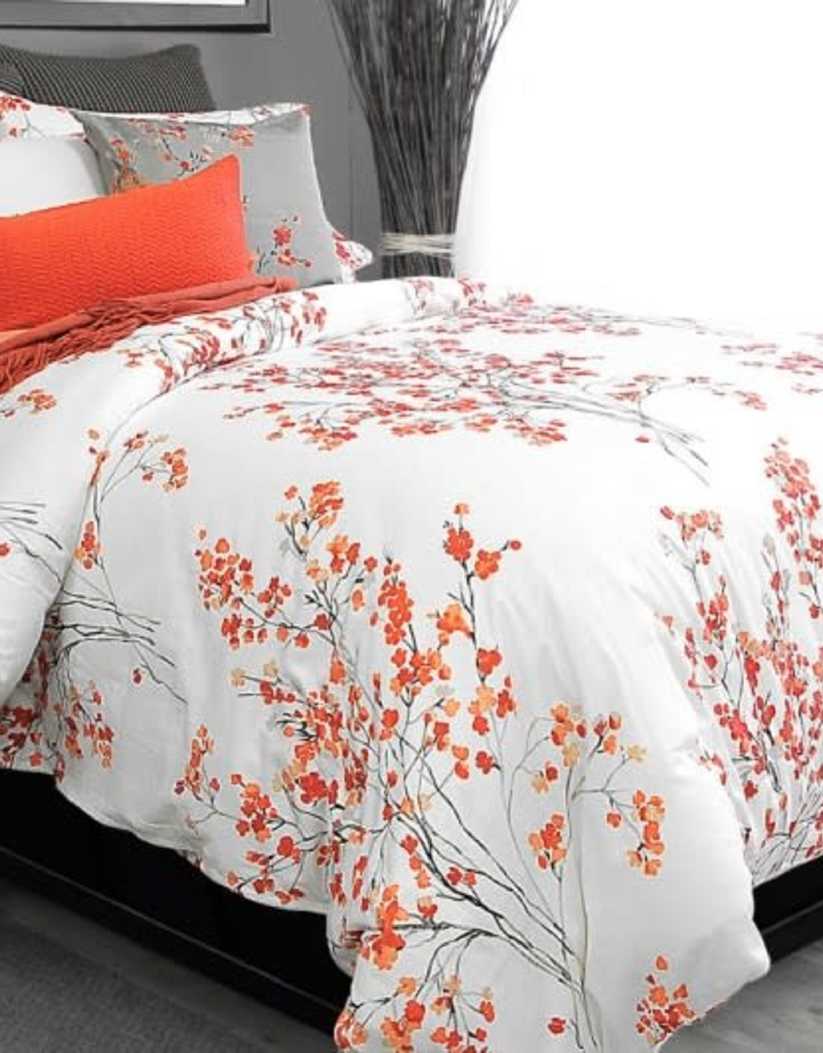 Alamode Home Duvet Set RJS Brielle Queen w / shams