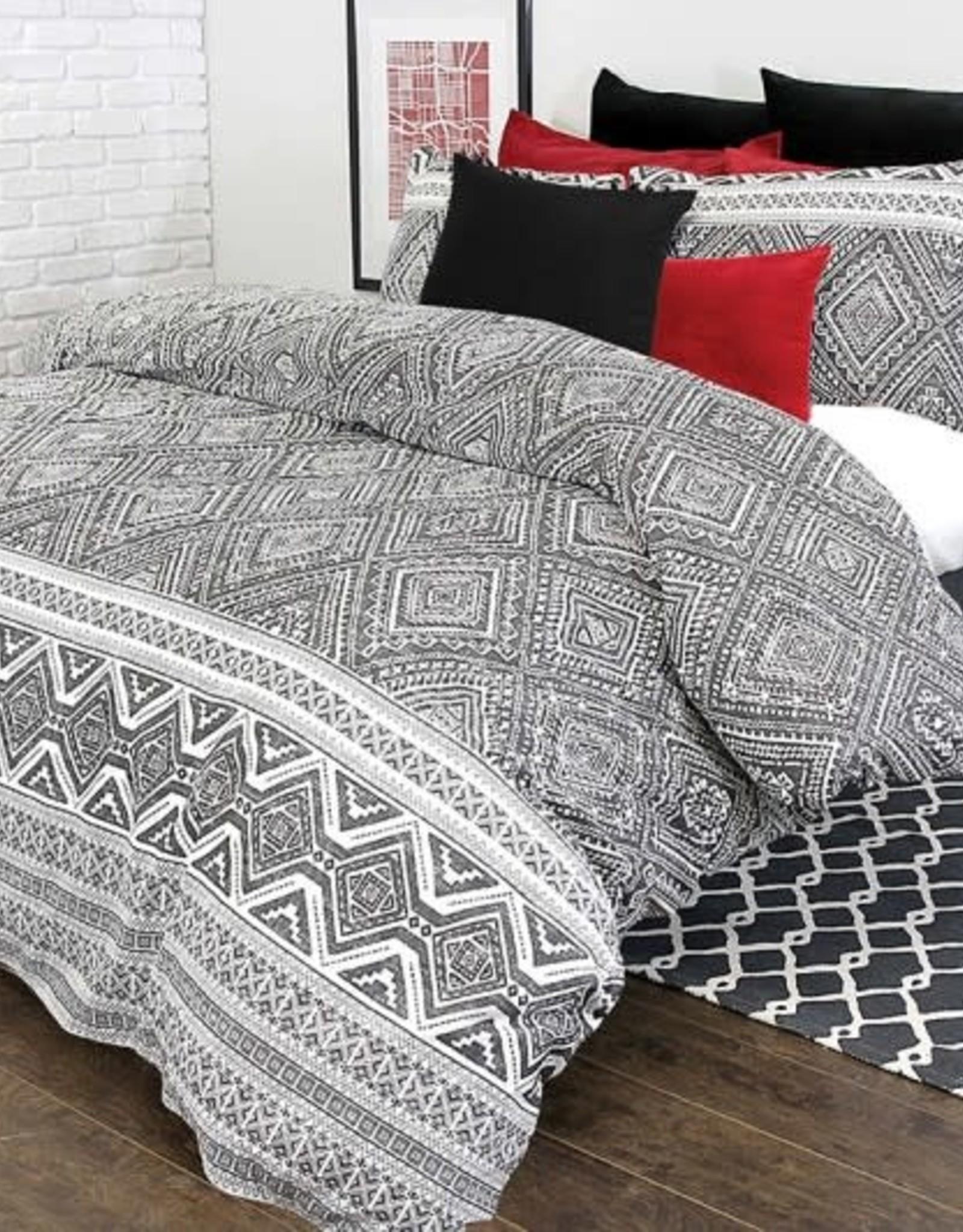 Alamode Home Duvet Set RJS Medina Queen w / shams