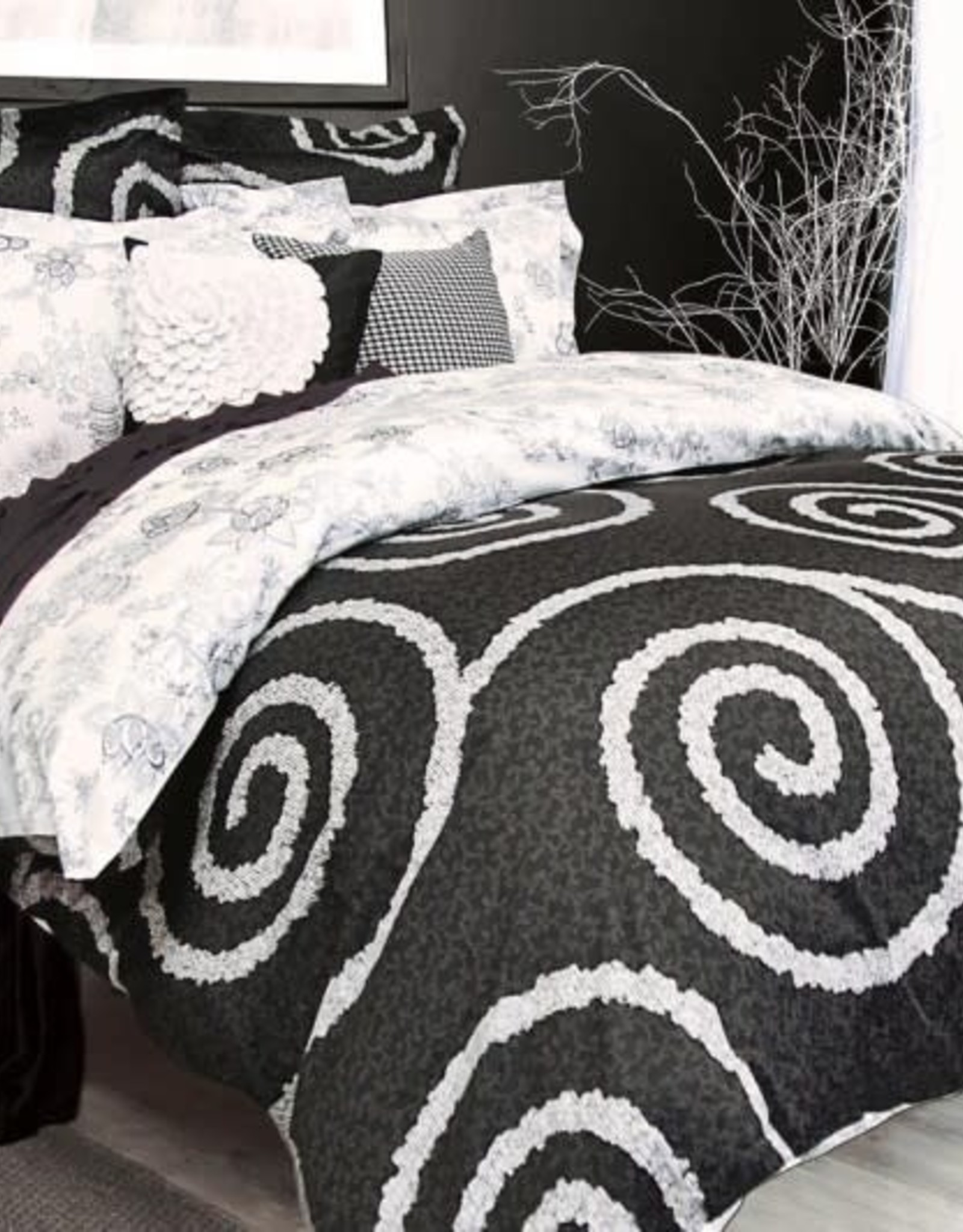 Alamode Home Duvet Set RJS Cocoon Queen w / shams*