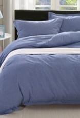 Daniadown Duvet Set Daniadown Denim Chambray King  w / Pillow Cases