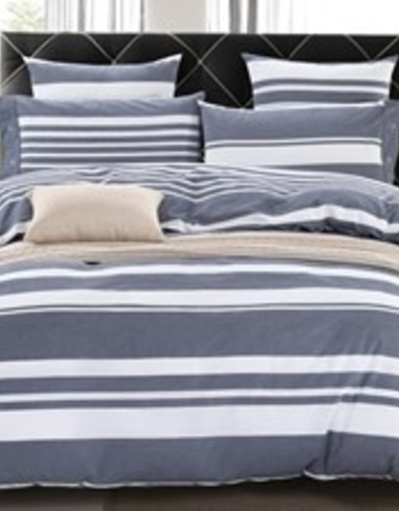 Daniadown Duvet Set Daniadown Nautical Stripe King  w/ Pillow Cases